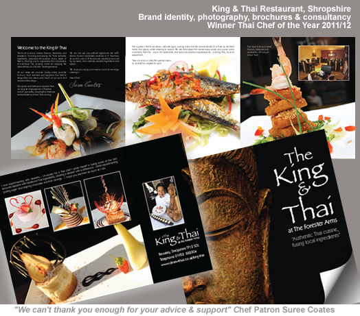 King and Thai Restaurant Branding