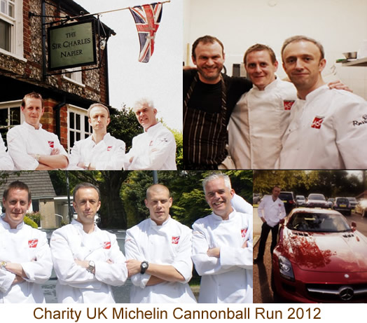 Badoit Charity CannonBall Run 2012 for Hospitality Action